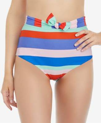Raisins Juniors' Cabana Girl Miami High-Waist Bikini Bottoms