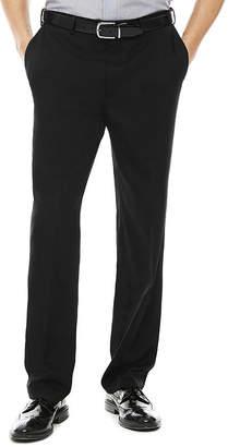 Savane Micro Melange Flat Front Pants - Classic