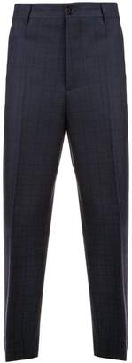 Marni checked tailored trousers