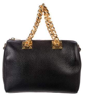 Sophie Hulme Small Chain-Link Satchel