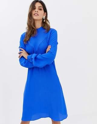 Closet London Closet Long Sleeve A-line Dress