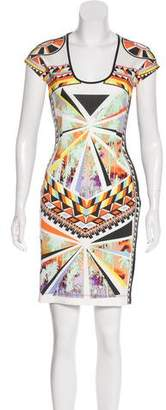 Just Cavalli Sleeveless Printed Dress w/ Tags