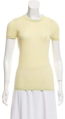 Calvin Klein Collection Wool-Blend Top