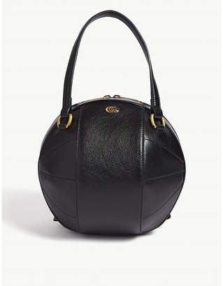 Gucci Leather basketball tote