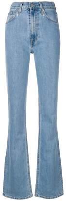 Helmut Lang bootcut leg jeans
