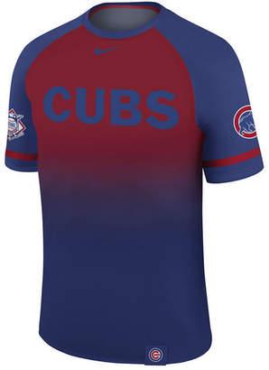 Nike Men's Chicago Cubs Dri-Fit Sublimated Raglan T-shirt