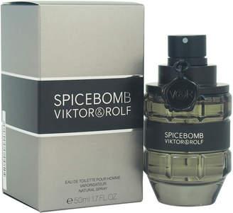 Viktor & Rolf Men's 1.7Oz Spicebomb Eau De Toilette Spray
