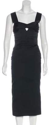 Burberry Bow Cutout Dress