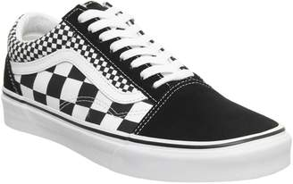fb3489b986da Vans Old Skool Black Checkerboard True White