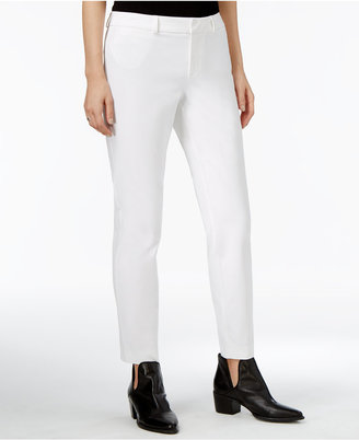 Maison Jules Straight-Leg Ankle Pants, Only at Macy's $49.50 thestylecure.com