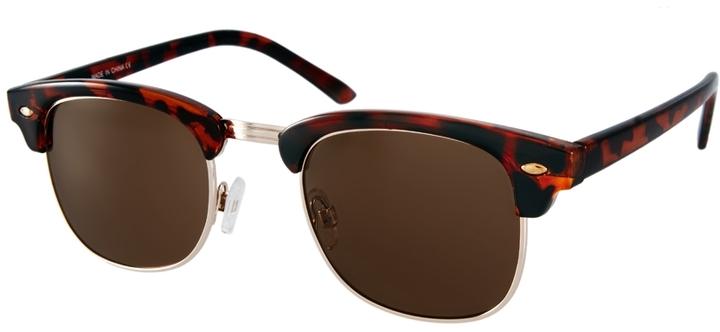 ASOS Tortoiseshell Clubmaster Sunglasses