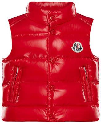 Moncler Bernard Puffer Vest, Size 12M-3T