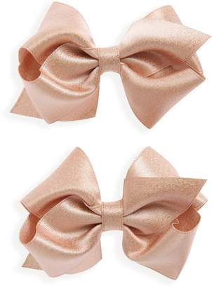 PLH Bows 2-Pack Sparkle Hair Clips