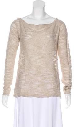 White + Warren Lightweight Bouclé Sweater