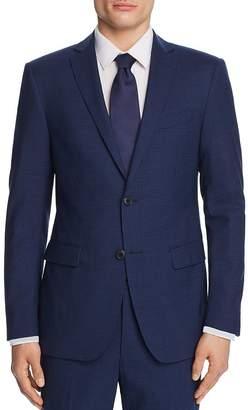 John Varvatos Tonal Micro Check Slim Fit Suit Jacket
