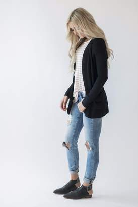 Lightweight Cuddle Cardigan - Black
