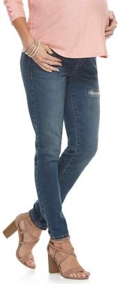 A Glow Maternity a:glow Belly Panel Skinny Jeans