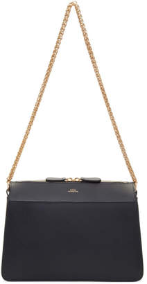 A.P.C. Navy Ella Bag