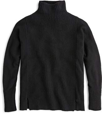 J.Crew Mock Neck Cashmere Sweater