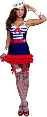 Dreamgirl Women's Sexy Sea Captain Costume, Sailor's Delight