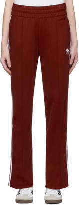 adidas Burgundy Contemporary BB Track Pants
