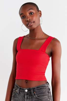 Urban Outfitters Side Lines Square-Neck Tank Top