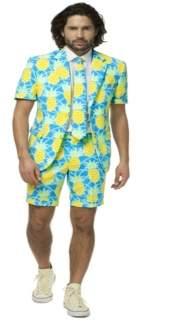 Opposuits OppoSuits Men's Summer Shineapple Pineapple Suit