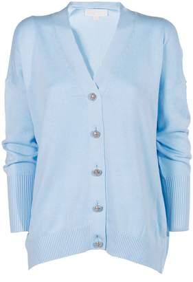 MICHAEL Michael Kors Embellished Button Cardigan
