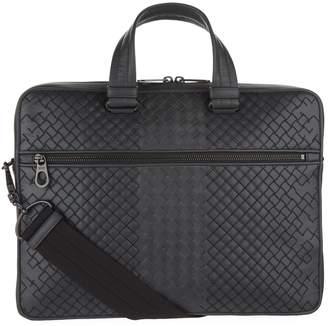 Bottega Veneta Leather Intrecciato Aurelio Top Handle Bag