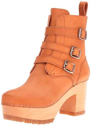 Swedish Hasbeens Women's Buckle Boot