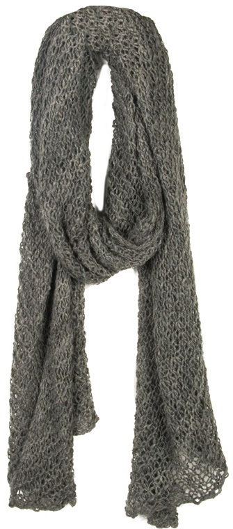 Carolina K Long Open Knit Scarf