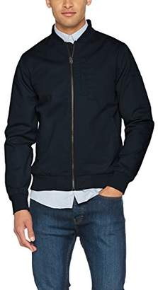 Shine Original Men's Bomber Jacket, Blue Cold Navy