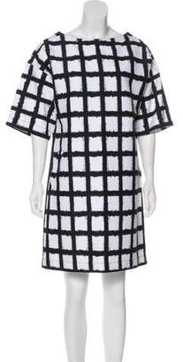 Michael Kors Geometric Print Mini Dress