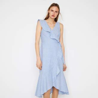 df92d2ca Warehouse Blue Striped Dresses - ShopStyle UK