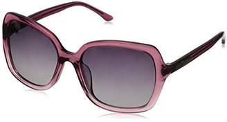 Hang Ten Gold Women's Fashion Forward HTG1015 C3 Polarized Round Sunglasses