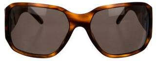 Versace Embellished Tinted Sunglasses