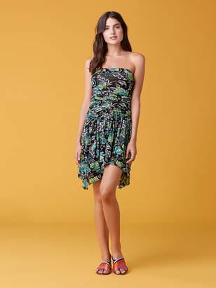 9e227e8351 Diane von Furstenberg Karia Tube Mesh Dress