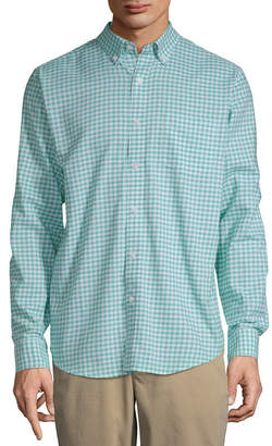 ec818495600f80 JOHN S BAY Mens Long Sleeve Button-Front Shirt