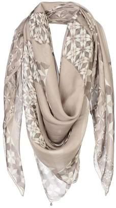 Esprit Accessoires Womens 078ea1q017 Scarf, Grey (Light Grey 040), One Size (Manufacturer Size: 1SIZE) Esprit