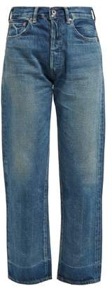Chimala Faded Straight Leg Jeans - Womens - Denim