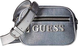GUESS Manhattan Mini Crossbody Top Zip