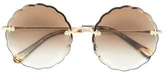 Chloé Eyewear round frame sunglasses