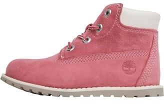 d913e3bb1b725 Timberland Infant Girls Pokey Pine 6 Inch Boots Pink