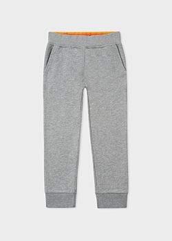 Paul Smith Boys' 8 + Years Grey Joggers With Zebra Logo