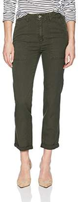 AG Adriano Goldschmied Women's WES Utilitarian Relaxed Straight