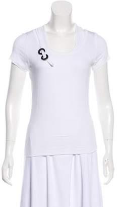Y-3 Scoop Neck Short Sleeve T-Shirt