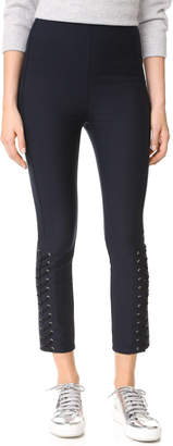 Derek Lam 10 Crosby Laced Sides Leggings $355 thestylecure.com