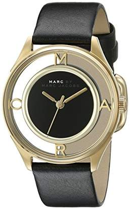 Marc Jacobs MBM1376 Women's Analogue Quartz Bracelet Watch with Leather Strap