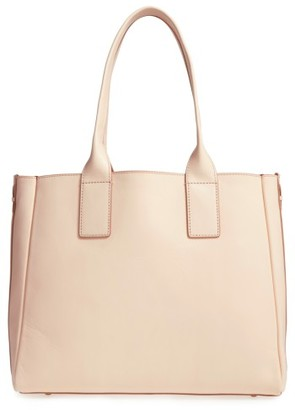 Frye Ilana Leather Tote - Beige $498 thestylecure.com