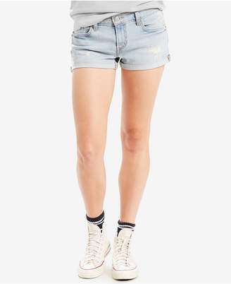 Levi's® Mid-Length Shorts $39.50 thestylecure.com
